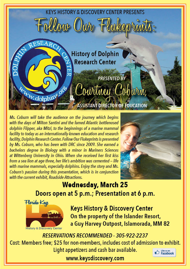 History of Dolphin Research Center Topic of Keys History