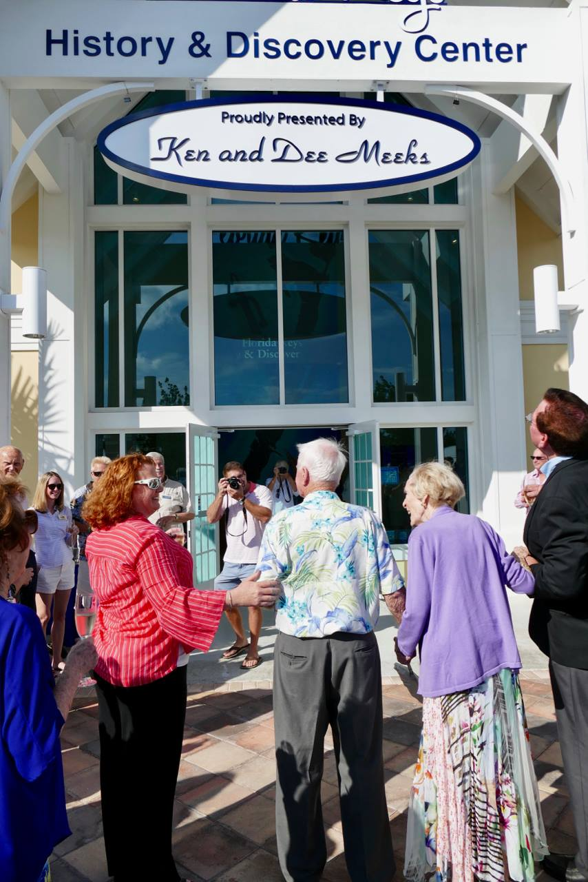 Islamorada Philanthropists Ken and Dee Meeks Gift $1 Million to the Florida Keys History and Discovery Foundation