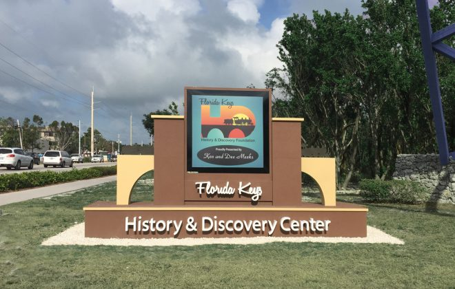 Keys History & Discovery Center new street sign