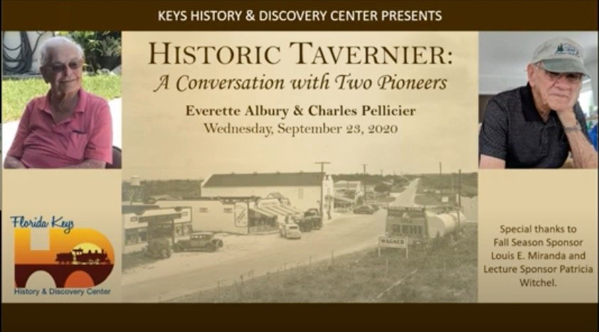 Historic Tavernier: A Conversation with Two Pioneers